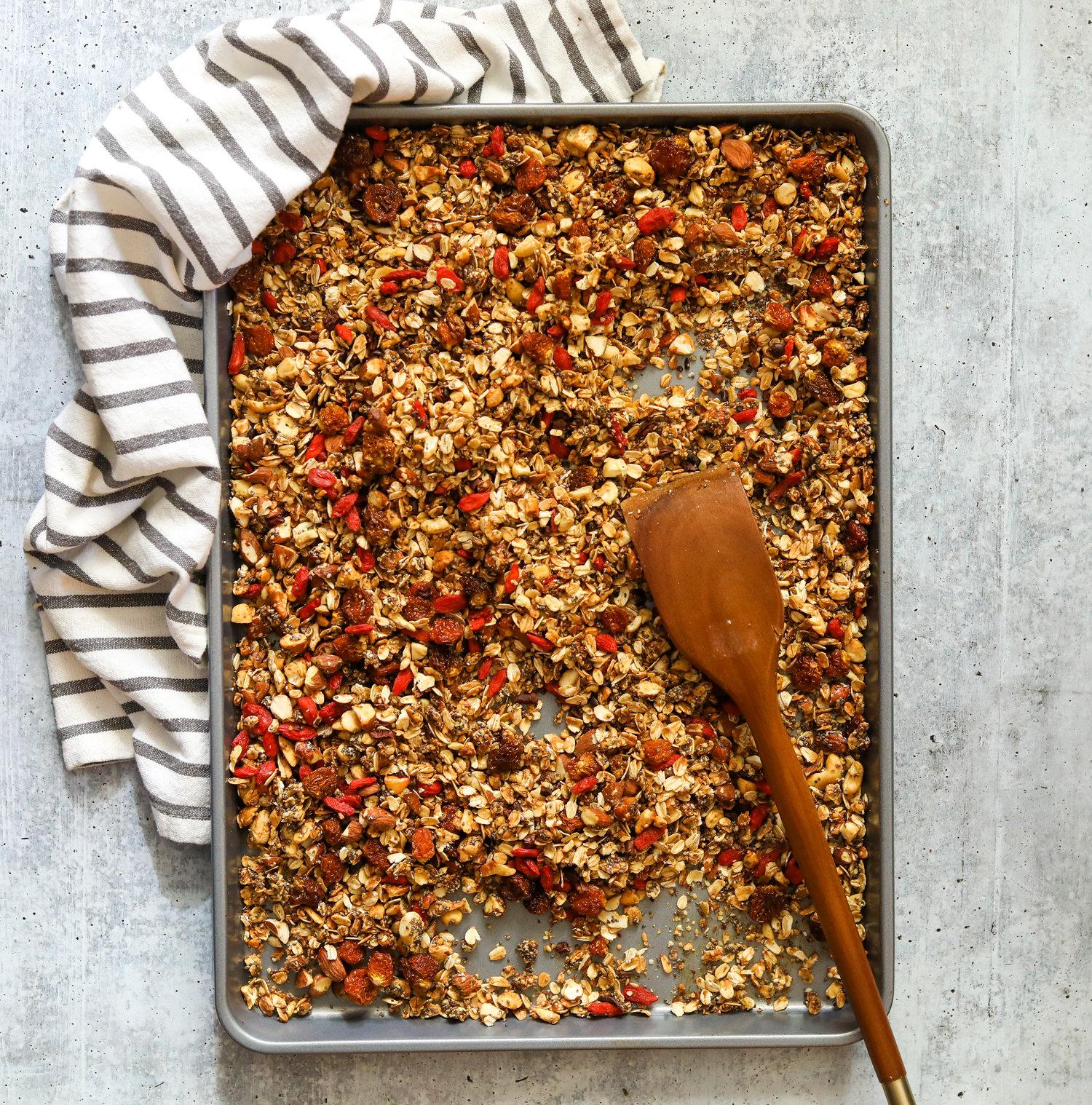 granola de Bayas